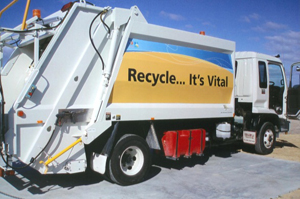 Rotto truck recycle its vital